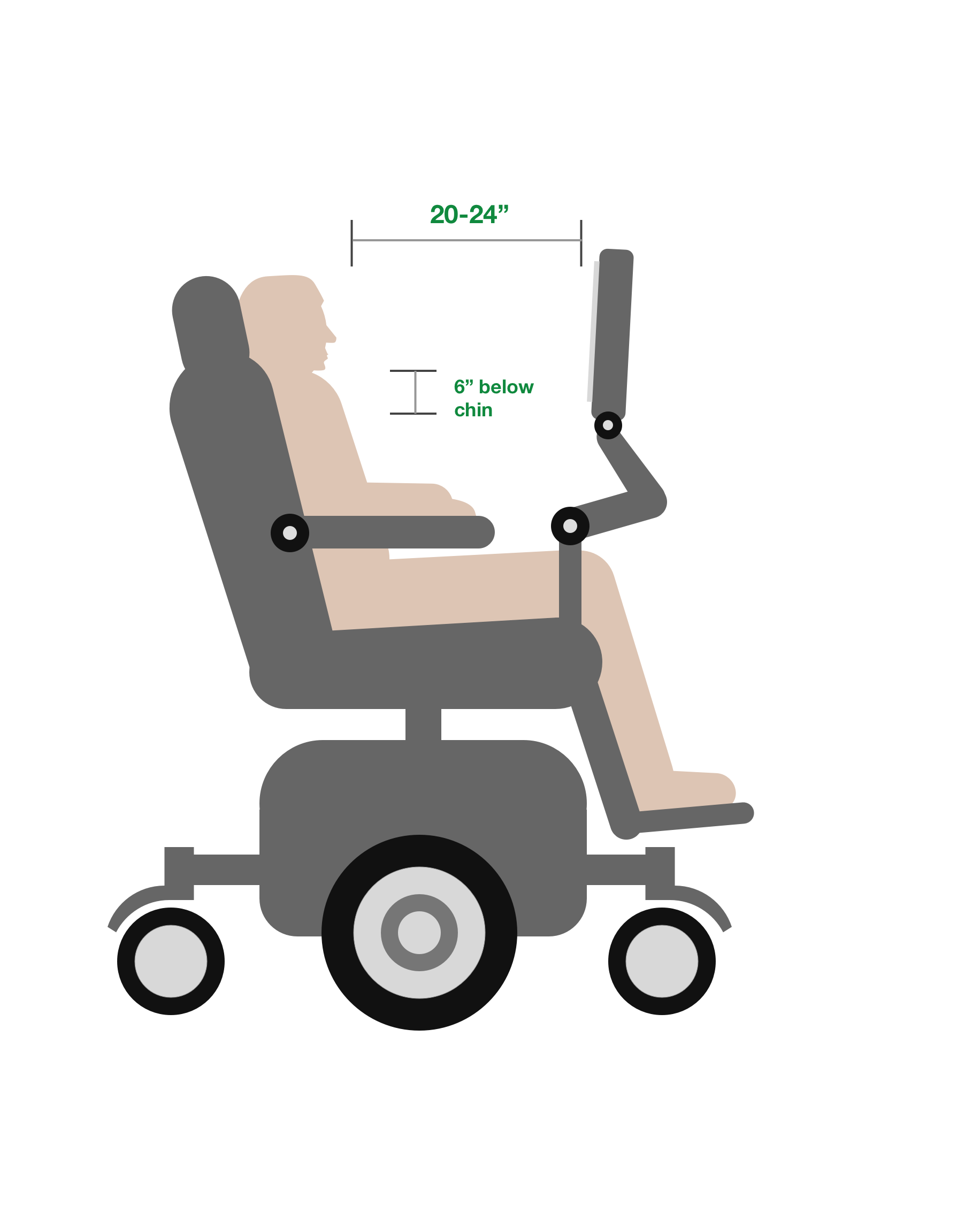 Positioning your tablet or AAC for Ability Drive
